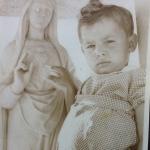 Nicola Di Sipio ad appena due anni