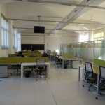 Uno degli open space del Gran Sasso Science Institute