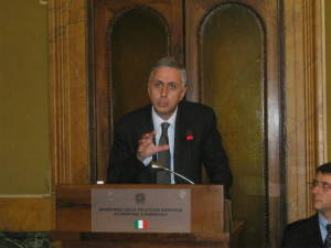 Intervento di Di Carlo alla Biblioteca del Ministero dell'Agricoltura (settembre 2013)