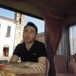 Il copywriter Gabriele Di Donato durante l'intervista rilasciata a Storieabruzzesi.it