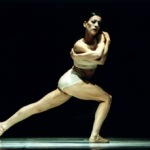 Eleonora mentre danza sul palco (alcuni anni fa)